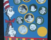 "Custom Listing for Tricia-Cat in the Hat ""Welcome"" Sign"