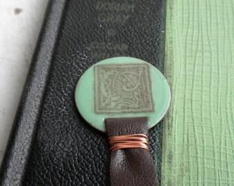 Book of Kells Bookmark in Light Green