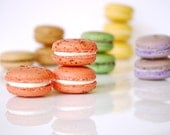 12 Assorted Regular French Macarons - Perfect for tea time