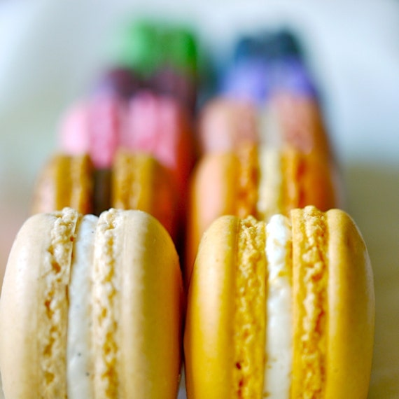 24 Assorted Regular French Macarons - Perfect for tea time