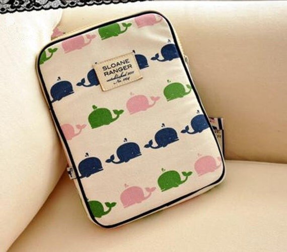 I pad bag Storage Bag Table case --- little whale