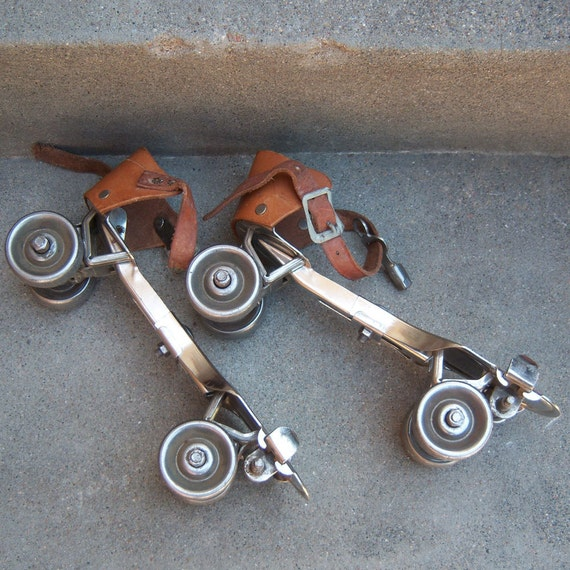 1930's Roller Skates With Key