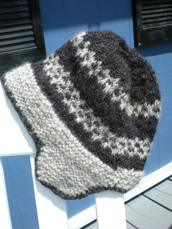 Knitted Earflap Hat