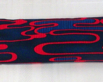 Eye Pillow - Red/Blue Swirls