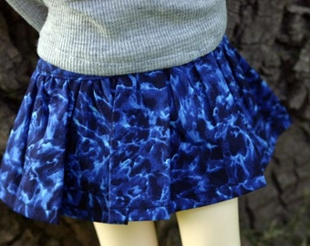 SD / SD13 Skirt in Shades of Blue for 60cm BJD