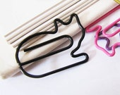 Last Pack : Colorful Cat Paper Clips