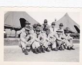 Guys in Uniforms and Hats - Vintage Photograph, Vernacular, Ephemera, Found Photo