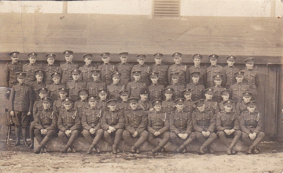 Group of Soldiers Vintage Photograph (B)