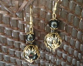Elegant Black Dangles