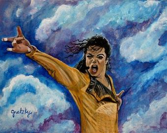 Michael Jackson Original Painting