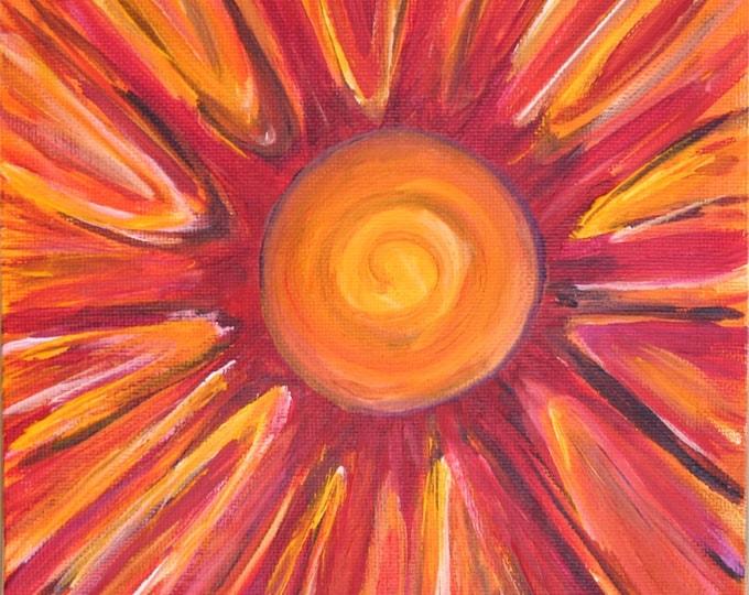 Sunshine Print Poster