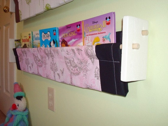 Clearance Book Storage Sling - Pink and Black - Check out my shop for more options