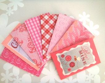 Valentines no.2-Small Envelope 8pc Set