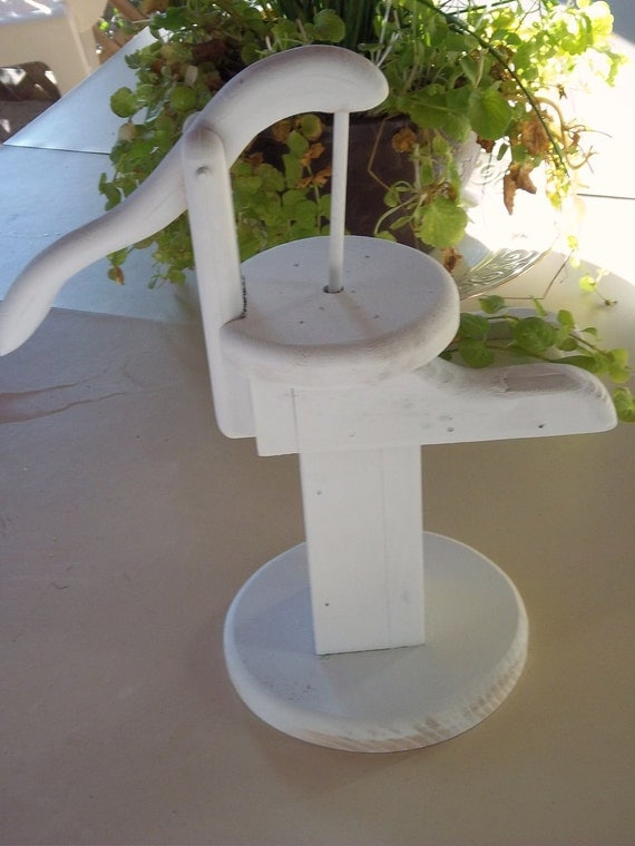 Vintage Faux Water Hand Pump Decor Display