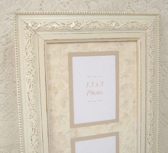 Picture Frame Ornate Frame Shabby Chic Frame Large Frame Ivory Wedding Wall Decor