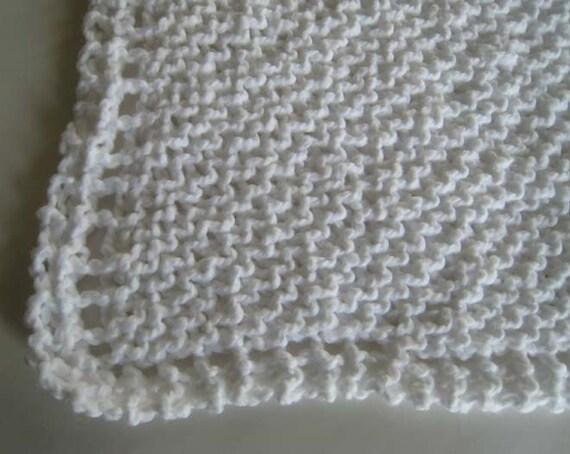 Three Spa Organic Cotton Face Cloth, Facial Cleansing Cloth,  Pure White Spa Face Cloth