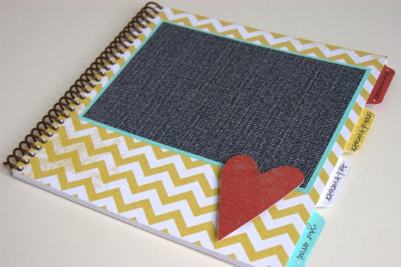 Pregnancy Journal - Gender Neutral Cover Design - HEART