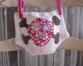 Diaper covers by...Too Chutes Newest Fancy Pants...Skully Bunns....