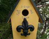 French Cottage Bird House
