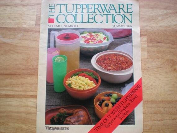 Vintage Tupperware  1986 Sales Catalogue