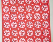 Bandanna Greyhound red and white