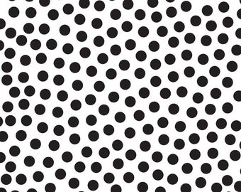 Tuxedo Collection White Dot by Doodlebug Designs Inc for Riley Blake, 1/2 yard