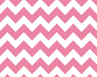 Riley Blake Chevron Hot Pink Medium