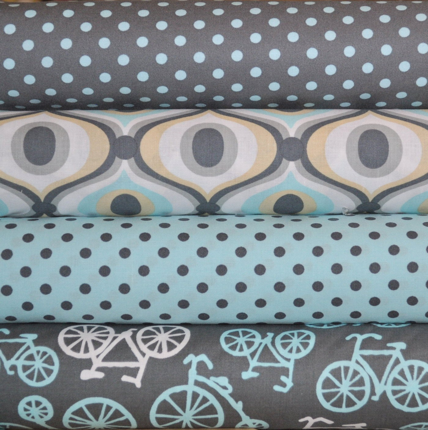 baby dumb dot gray for michael miller 1 2 yard cotton fabric from