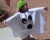 Custom Fleece Ghost Poncho