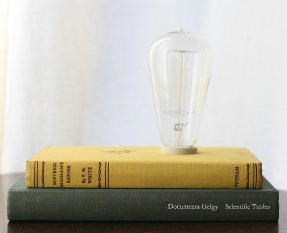 Hardback Book Lamp - Masham's Stack