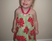 Bow Tie Baby/Toddler Dress - Size 18 to 24 months