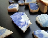 HAWAII Surf Tumble Pottery - 10 pieces - sea glass POTTERY - Hand Picked