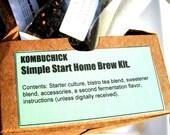 ULTIMATE KOMBUCHICK Gallon- Starter Kit for Kombucha- Lemongrass