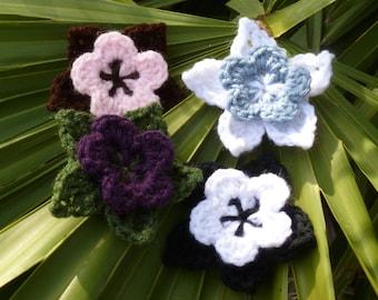 Custom Crocheted Flower