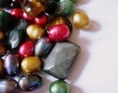 Multicolored Beads Set of 100
