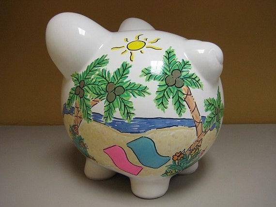 Vacation Fund Piggy Bank