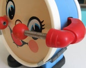 Vintage Battery Operated Drummy Musical Toy