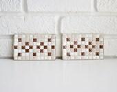 Mid Century Mosaic Trays
