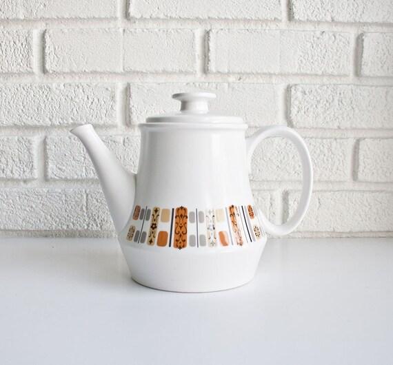 Mid Century Modern Teapot