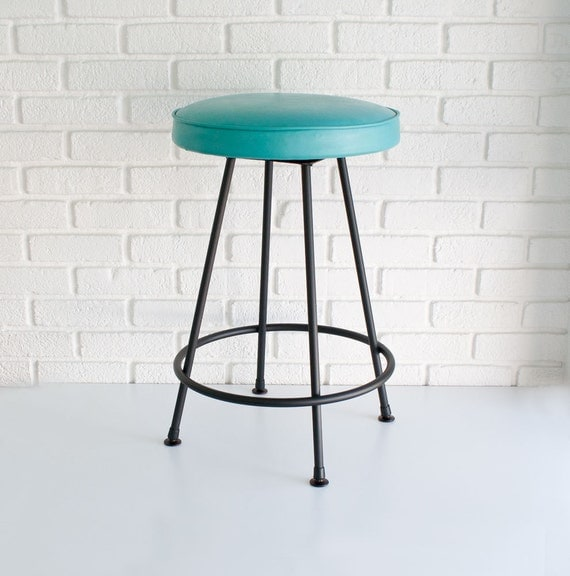 Mid century modern bar stool by kibster on etsy