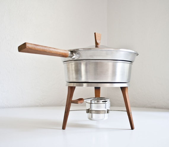 Mid Century Modern Chafing Dish