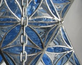 Star Tetrahedron Ceiling Lamp With Flower Of Life Pattern