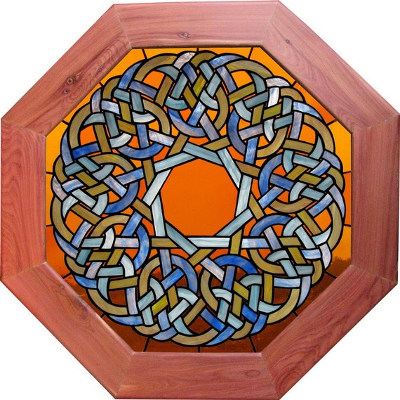 9SD Series Infinity Knot Window Framed With Juniper