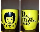 GREEN Lionel Richie Coffee Mug