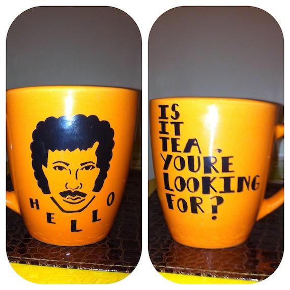 ORANGE Lionel Richie Coffee Mug (16 oz)