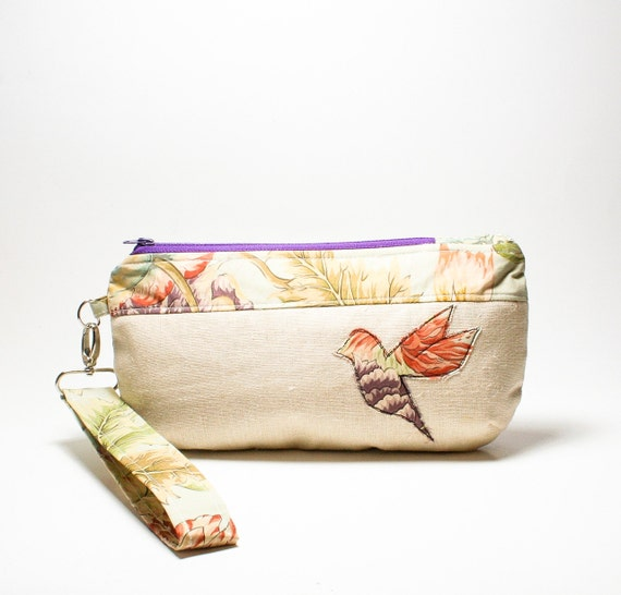 Bloom - round bottom, oval wristlet with detachable strap