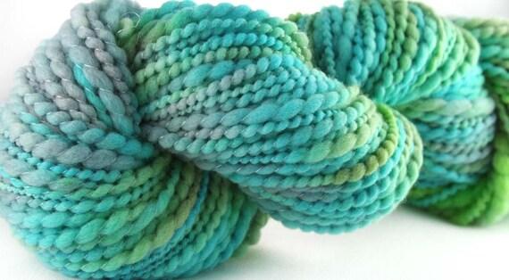 WORLDLY Hand-painted, Hand-spun Merino Wool Yarn