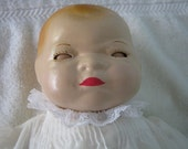 Bye-Lo Baby  Composition 13 inches tall cloth body c1940s//Just Reduced//By Gatormom13