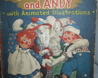 Raggedy Ann and Andy Animations by Julian Wehr c.1940s