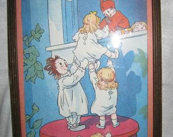 Raggedy Ann Doll Print c.1950 By Gatormom13